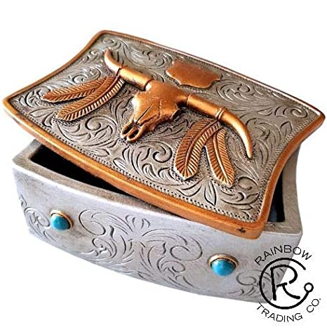 Amazon com: Southwestern Native American Silver Hand Tooled