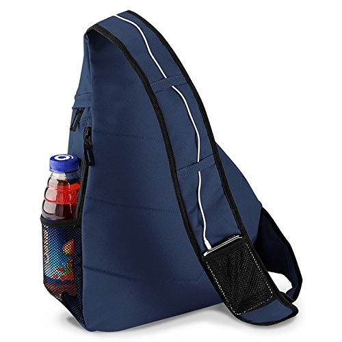 Picknick Mountain Bag Goodman modischer Rucksack - ideal zum Wandern, Freizeit, Outdoor, Navyblau