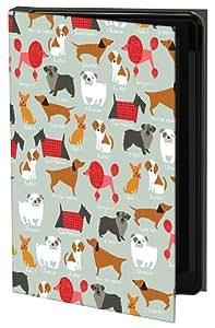 Keka Classic - Funda rígida para iPhone 5, diseño de perros de Arrolyn Weiderhold, multicolor