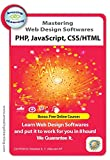 4 Web Design training Courses - PHP, Dreamweaver & Javascript Training CDs Value Pack