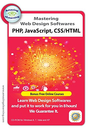 4 Web Design training Courses – PHP, Dreamweaver & Javascript Training CDs Value Pack
