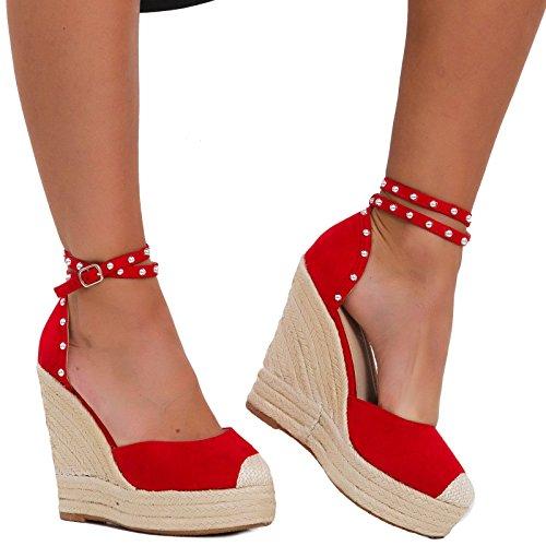Femme 3811 Rouge 6 Toocool Escarpins qSgxBzn