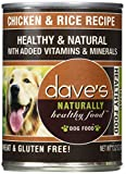 Dave's Naturally Healthy, Chicken & Rice for Dogs, 13 oz Can (Case of 12)