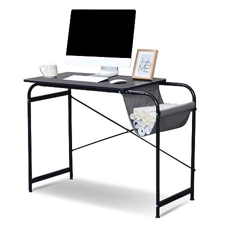 EBTOOLS Mesa de Ordenador Escritorio de PC Mesa de Oficina con ...