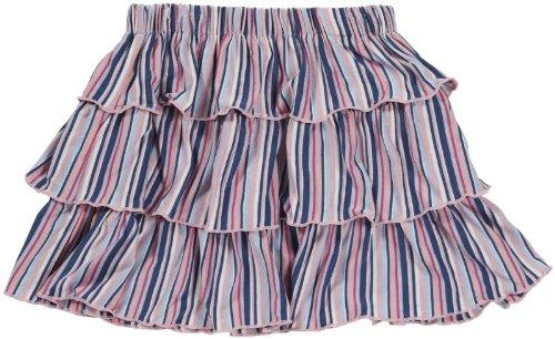 KicKee Pants Girls' Print Ruffle Skirt (Toddler)-Sailaway Stripe-Girl - Sailaway Stripe-Girl - 2T