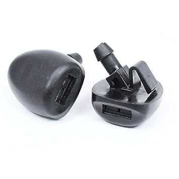 BAAQII 2 Piezas/Juego de Parabrisas Delantero Limpiador Boquilla de Chorro 6438Z1 para Peugeot 407 206: Amazon.es: Coche y moto