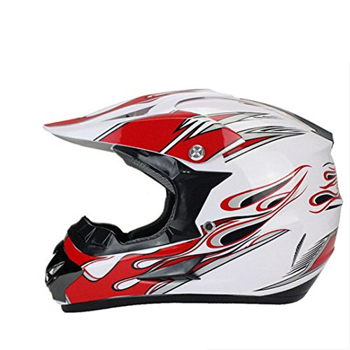 Manngsr Offroad Helmet Offroad Professional Cross Helmet Racing Motorcycle Helmet 1 L ()