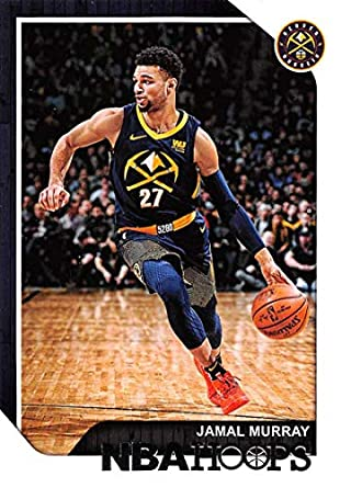 7d86ef4701b2 2018-19 Panini Hoops  22 Jamal Murray Denver Nuggets NBA Basketball Trading  Card