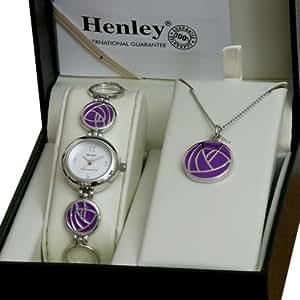 Amazon.com: Henley Ladies Rennie Mackintosh Purple