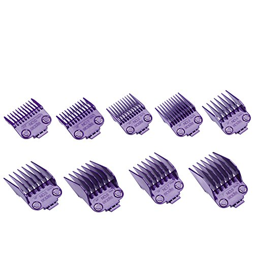Andis Master Dual Magnet Small 5-Comb Set and A Large 4-Comb