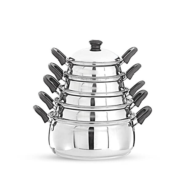 Pigeon-Kitchen-Star-Stainless-Steel-Cook-and-Serve-Handi-Set-5-Pieces-Silver