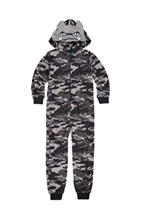 0baa135ab Amazon.com  Jelli Fish Kids Jellifish Kids Boys Camo Micro-Fleece ...