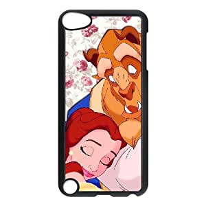 Ipod Touch 5 Phone Case Cover classic style disney cartoon Beauty and the Beast BB3848