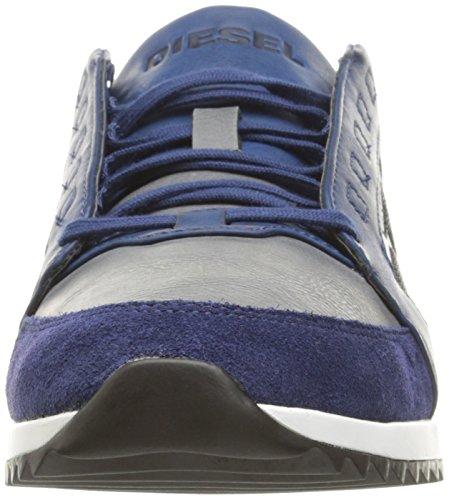 Diesel Uomo V-staffetta S-fleett Fashion Sneaker Medievale Blu / Castlerock