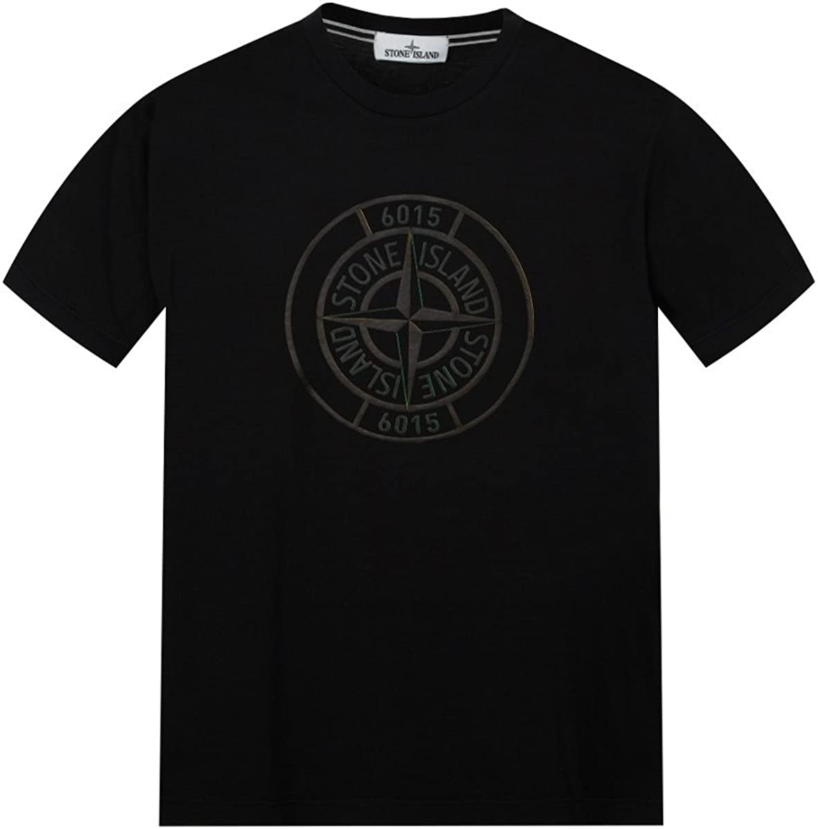 Stone Island Junior Large Compass Logo T-Shirt Black