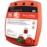 Zareba Red Snap'r 66C AC Powered Solid State 15 Mile Fence Charger