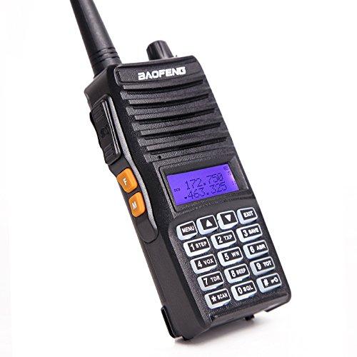 2pcs Baofeng UV-82(II) Tri-Power 8W/4W/1W Two Way Radio Transceiver (Upgraded Version of UV-82 with Tri-Power), Dual Band 136-174/400-520MHz True 8W High Power Two-Way Radios