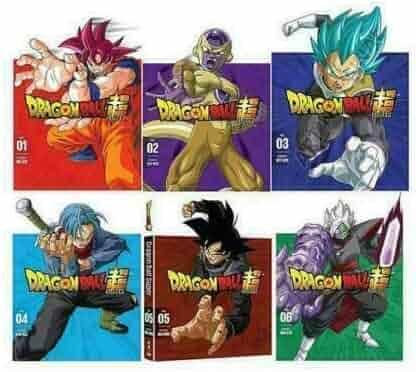Dragon Ball Z Super: Complete Series Part 1-6 (DVD)