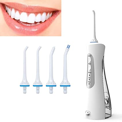 GIFT Oral Irrigator Oral USB Recargable Flosser De Agua Portátil Dental Chorro De Agua 170 ML