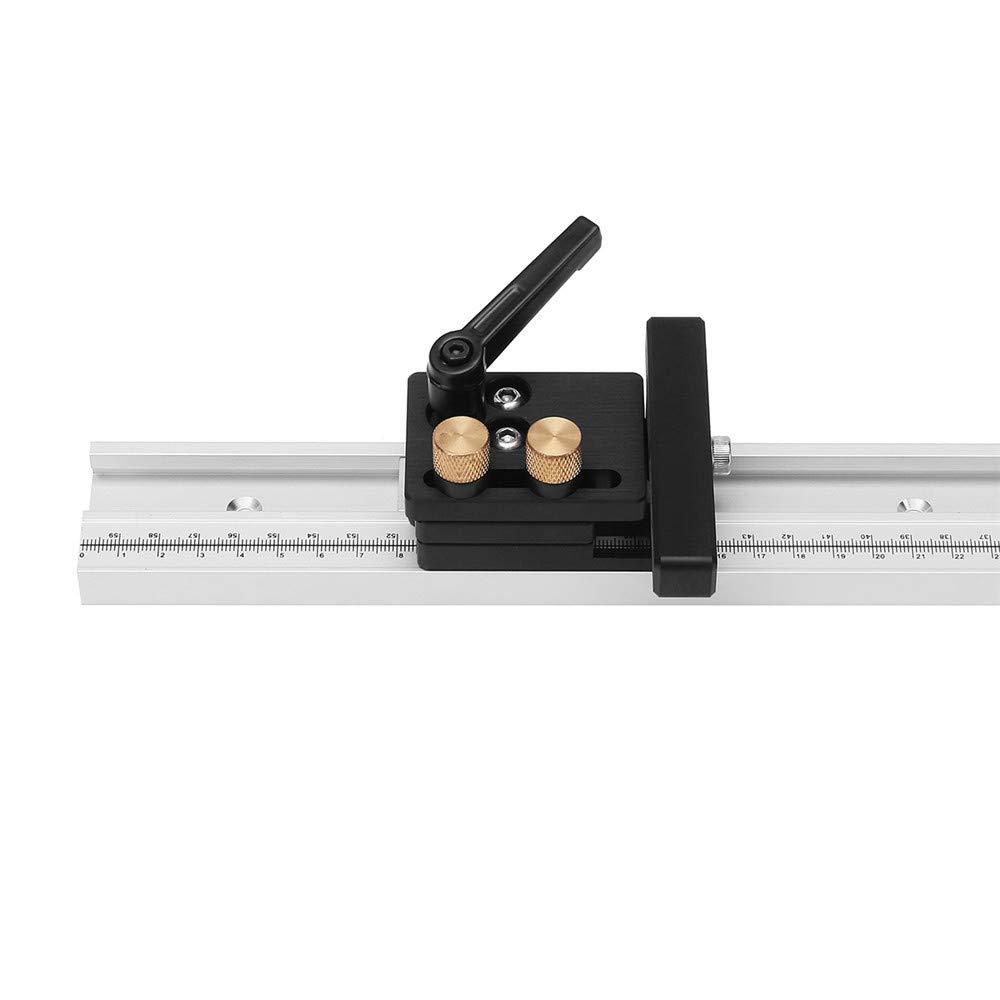 belupai Rail en bois /à onglet en alliage daluminium pour rail en bois /à onglets avec /échelle Nouveau /à gauche