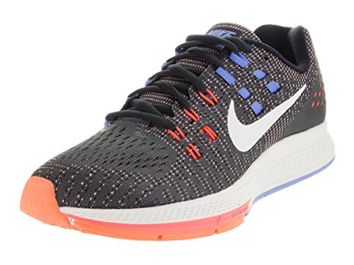 Nike W Air Zoom Structure 19, Zapatillas de Running para Mujer Gris (Anthrct / Sl-Hypr Orng-Chlk Bl)