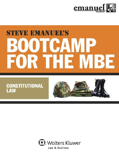 MBE Bootcamp: Constitutional Law (Bootcamp for the (Mbe Boot)