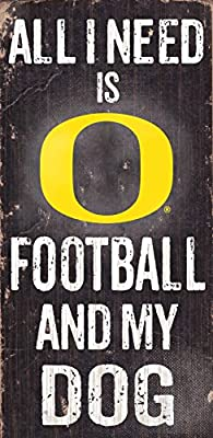Fan Creations Dog Sign University of Oregon Football, Multicolored