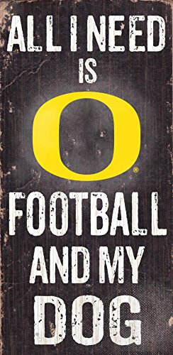 Fan Creations Dog Sign University of Oregon Football, Multicolored ()