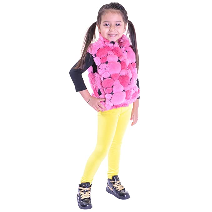 0801d58d33476 Amazon.com: Angelina 12-Pair, Assorted-Color-Pack Girls Fleece-Lined  Footless Leggings #016S: Leggings Pants: Clothing