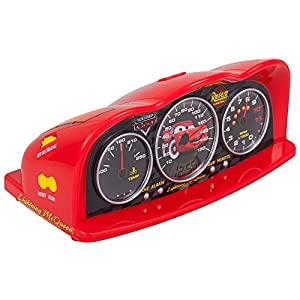 disney cars radio alarm clock with time projector tv. Black Bedroom Furniture Sets. Home Design Ideas