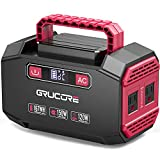 GRUCORE 178Wh Lithium Portable Power Station, CPAP Battery Pack Backup Power Supply with 110V/150W(Peak 250W) AC Inverter Outlet for Outdoors Camping Fishing Home Emergency ¡­
