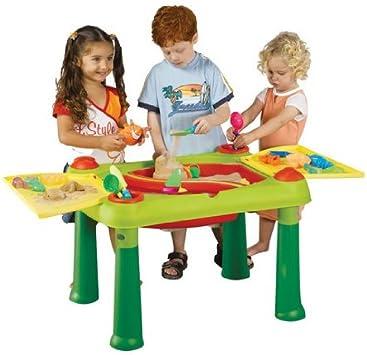 False Keter 17184058 - Mesa de Juegos Infantil con Compartimentos ...