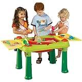 Keter - 17184058 - Table D'Activité 2 En 1 Avec Du Sable Et - L'Eau Pour Enfant - 79 X 56 X 50 Cm
