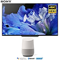 Sony XBR-65A8F 65-Inch 4K Ultra HD Smart BRAVIA OLED TV (2018 Model) with Google Home (White)