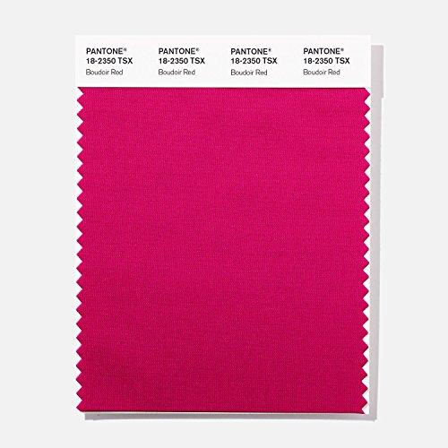 PANTONE 18-2350 TSX Polyester Standards Swatch Card, Boudoir (Boudoir Card)