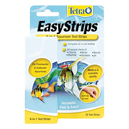 Tetra EasyStrips 6-In-1 aquarium Test Strips, Water Testing