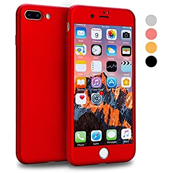 red iphone case 7