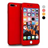 iPhone 7 Plus Case, VANSIN 360 Full Body Protection Hard...