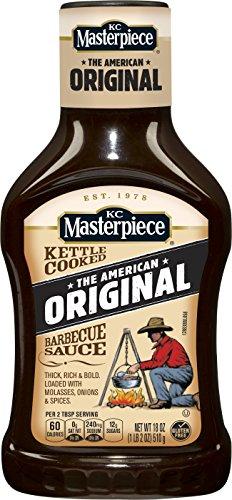 KC Masterpiece Original Barbecue Sauce, 18 Ounces