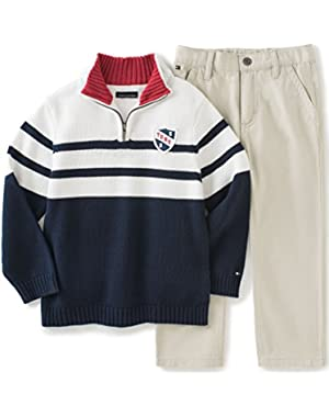 Tommy Hilfiger Baby Boys' Sweater Pants Set
