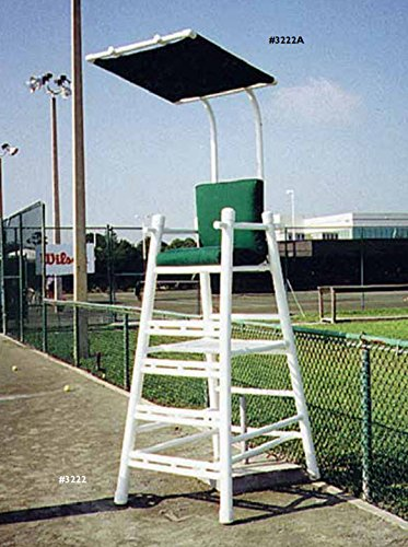 Tennis Court Accessories - PVC UMPIRE CHAIR by Har-Tru