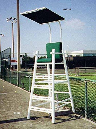 Umpires Tennis Chair (Har-Tru Tennis Court Accessories - PVC UMPIRE CHAIR)