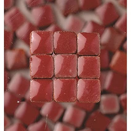 MosaicMicros 5 x 5 x 3 mm 10 g 100-Piece Ceramic Glazed Mini Mosaic Tiles Light Yellow