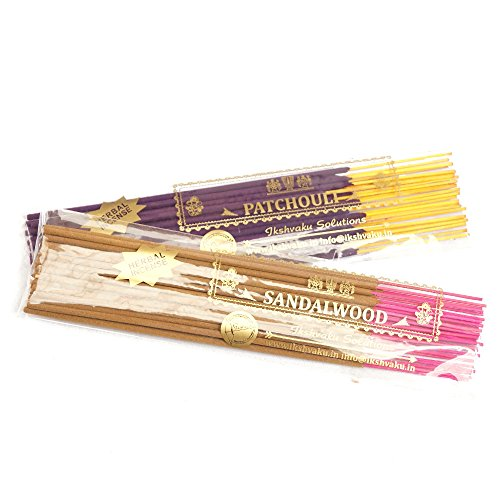 [Patchouli & Sandalwood Incense Sticks Combo] (Joss Incense Sticks)