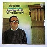 Schubert : Sonata in A, D.959; 12 German Dances 'Landler', Op. 171, D.790 / Alfred Brendel, Piano / Stereo