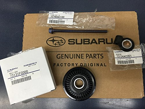 Adjuster Bolt - OEM Subaru A/C Pulley & Adjuster & Bolt Kit Impreza Legacy Forester Outback WRX STi