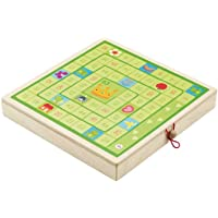 Sevi Classic Games Set (Checkers, Mill, Ludo, Game of of the Goose)