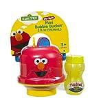 Little Kids Sesame Street Mini No-Spill Bubble Bucket Elmo Toy