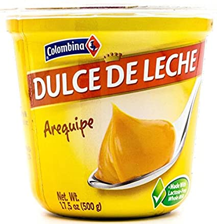 Amazon.com : Colombina Dulce de Leche Arequipe, 17.5 Ounce : Grocery & Gourmet Food