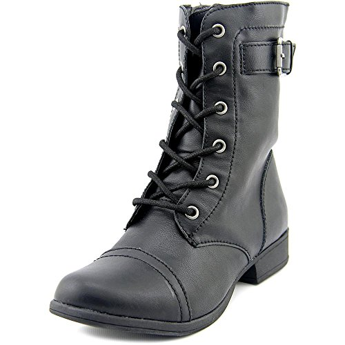 American Rag Womens Faylln Closed Toe Ankle Combat Boots, Black, Size 5.0